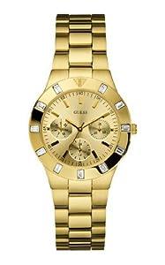 Reloj Guess W13576L1 de cuarzo para mujer con correa de acero inoxidable, color dorado de Guess