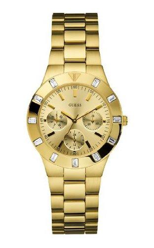 Guess W13576L1 - Reloj de lujo para mujer, color dorado