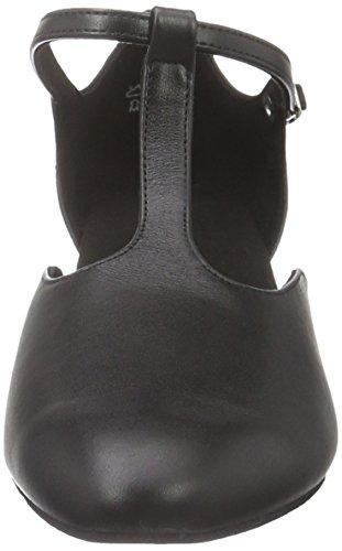 Diamant Damen Tanzschuhe 053-014-034, Chaussures de Danse de Salon Femme Noir