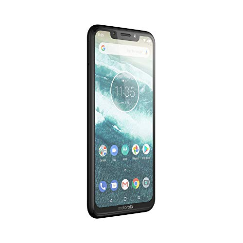 Motorola One 64 GB 5.9 Inch Android One Android 8.1 UK Sim-Free Smartphone with 4 GB RAM and 64 GB Storage (Dual Sim), Ceramic Black Img 2 Zoom