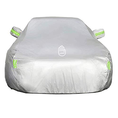 WPCPC Autoabdeckung wasserdicht, passend für Buick Regal Avenir Anti-Saft NA (Color : Silver) -