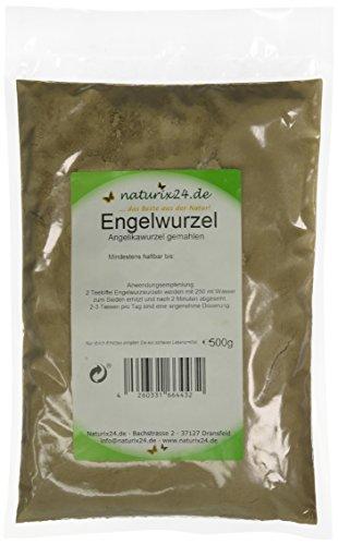 Naturix24 Angelikawurzel gemahlen, 1er Pack (1 x 500 g) -