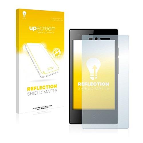 upscreen Reflection Shield Matte Bildschirmschutz Schutzfolie für Siswoo A4+ Chocolate (matt - entspiegelt, hoher Kratzschutz)