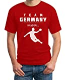 Team Germany Handball Fan Shirt Olympische Spiele T-Shirt XX-Large Rot