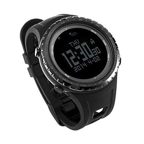 Reloj digital deportivo SUNROAD FR801B para hombre con barómetro, podómetro, altímetro, etc. Colo...
