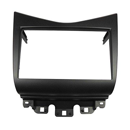 Dkmus doppio DIN radio stereo DVD Dash Trim kit di installazione per Honda Accord 2002-2007173* 98mm apertura