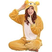 JT-Amigo Disfraz Pijamas para Unisex Adultos