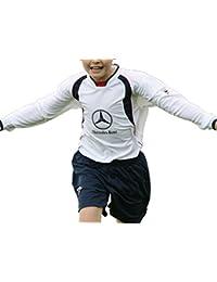 Nuevo Precision Training Bernabeu II camiseta de fútbol Fútbol jugar manga larga Top, blanco y