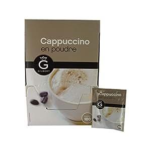 Gilbert Cappuccino poudre 100 sachets 3Kg