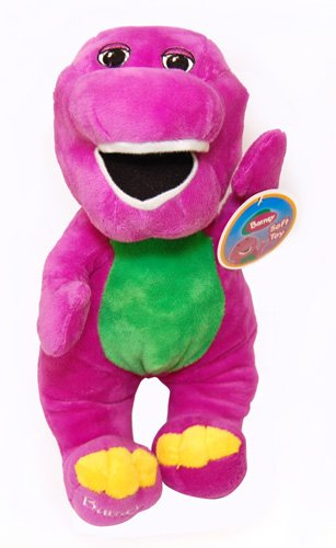 "Image of Barney The Dinosaur 14"" Plush"