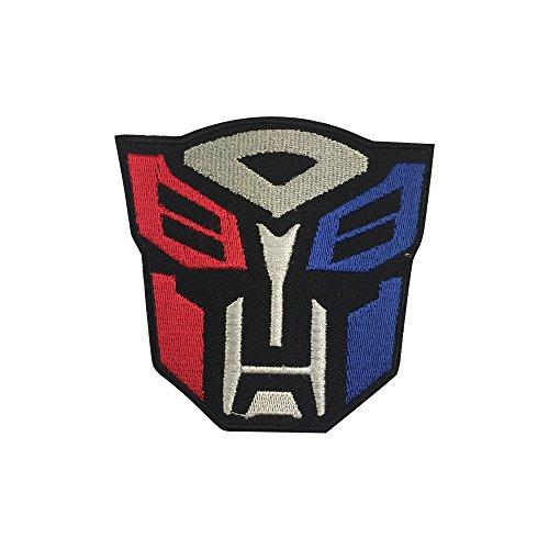Transformer Logo bestickt Patch Eisen auf oder Nähen -