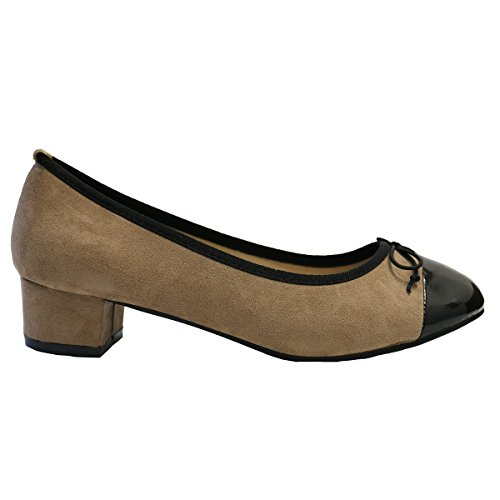 Lily Shoes ,  Ballerine donna Marron / Taupe