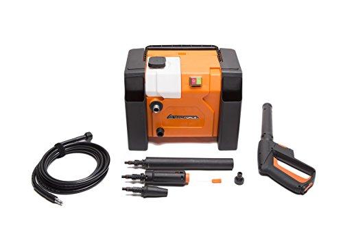 YardForce EW U13 Hochdruckreiniger, 1800W - Leistungsstarker Elektro-Druckreiniger im kompakten Box-Design - Ideal für Terrasse, Auto oder Steinböden