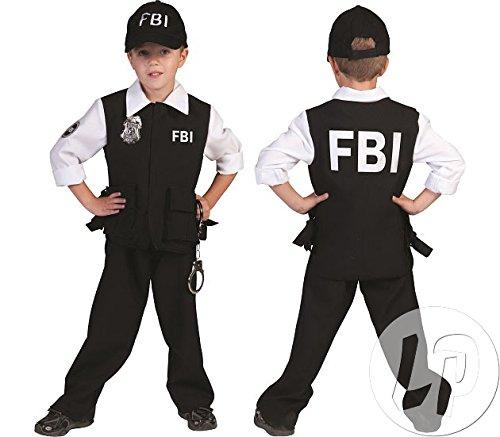 FBI Agent für Kinder (128) (Fbi Agent Kostüm Kinder)