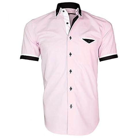 Chemisette Bicolore - chemisettes mode conventry rose - Taille