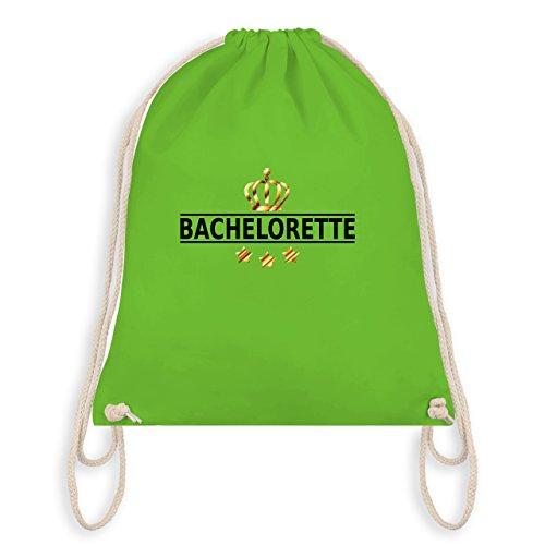 JGA Junggesellinnenabschied - Bachelorette Krone - Turnbeutel I Gym Bag Hellgrün