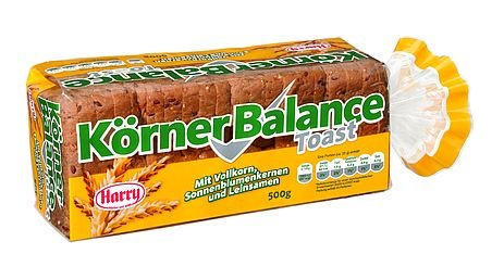 Harry Brot Körner Balance Toast 500g geschnitten