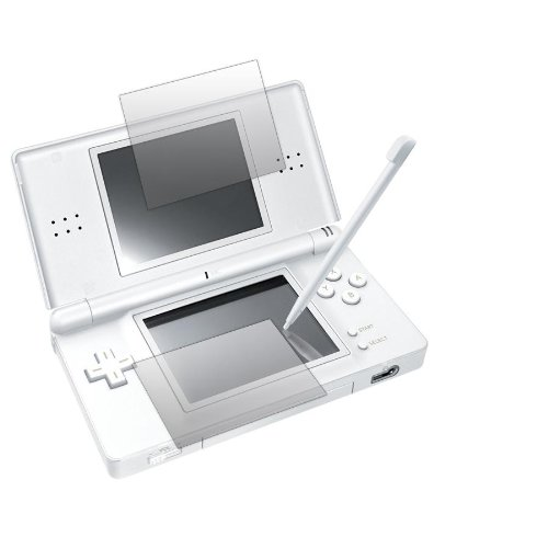 "2 x Slabo Displayschutzfolie Nintendo DS Lite ""1x BILDSCHIRM + 1x TOUCHSCREEN"" Displayschutz Schutzfolie Folie CrystalClear MADE IN GERMANY"