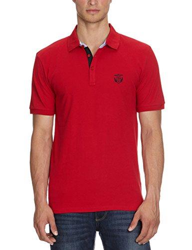 SELECTED HOMME - Polo da uomo - Manica corta - Rosso (Rot (True red)), XXL