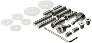 Briton 4726 Universal Stainless steel Pull Handle Fixing Kit for Use with 4700 Door Handles