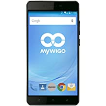 MyWigo City 2 - Móvil (4G, procesador de 1.3 GHz, 2 GB de RAM, 32 GB) color negro