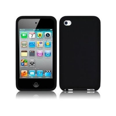 Silicone Case iPod Touch 4G Solid Black