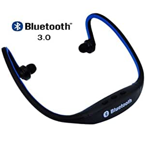 Lenovo VIBE P1 Comaptible Certified Bluetooth Wireless Headset (with Micro Sd Card Slot and FM Radio)