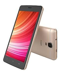 Ziox Astra Metal DTE Dual SIM Marshmallow 5 Inch 1GB & 8GB 4G Smartphone (Champagne)