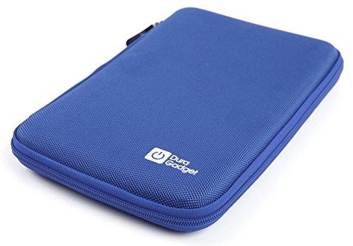 Blaue Tasche | Etui | Hard Case | Schutzhülle, robustes Ethylenvinylacetat (EVA Material), mit Klettverschluss und Zusatzfach für Texas Instruments TI-84 Plus, TI-84 Plus Silver Edition und TI-89 Titanium grafische Taschenrechner (Rechner ist NICHT im Lieferumfang enthalten!)