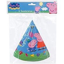 Peppa Pig - 6 sombreros (Verbetena 016000729)