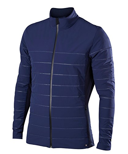 FALKE Herren Light Padded Jacket Sportbekleidung, Dark Night, S -