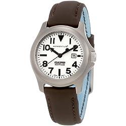 Momentum Damen-Armbanduhr XS ATLAS Analog Quarz Leder 1M-SP01W12C