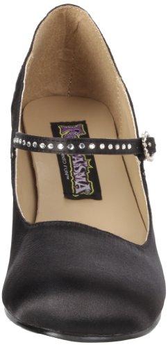 Pleaser FLA20/bsapu, Scarpe con tacco a punta chiusa da Donna Nero