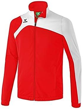 Erima Club 19002.0poliéster chaqueta, todo el año, infantil, color rojo / blanco, tamaño 116