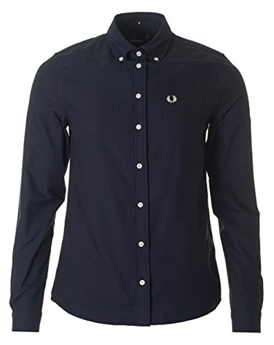 Fred Perry Oxford Button Down Collar Shirt NAVY 14
