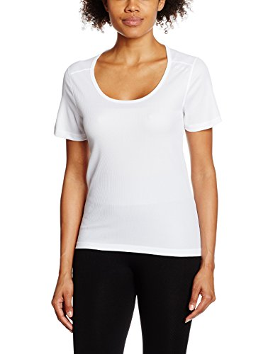Odlo S/S Crew T-shirt col Cubic White - Snow White