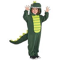 Dinosaur Kids Fancy Dress Halloween Animal Reptile Jumpsuit Girls Boys Costume
