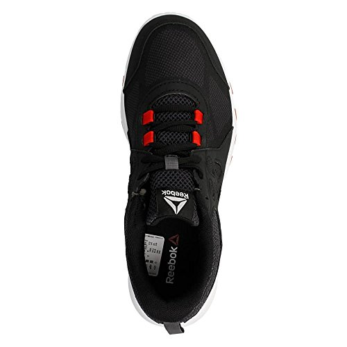 Reebok Sublite Train 4.0, Chaussures de Gymnastique Femme, Noir Noir (Stealth Black / Ash Grey / Riot Red / White)