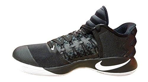 Nike Nike Hyperdunk 2016 Low, espadrilles de basket-ball homme Noir / Noir-blanc