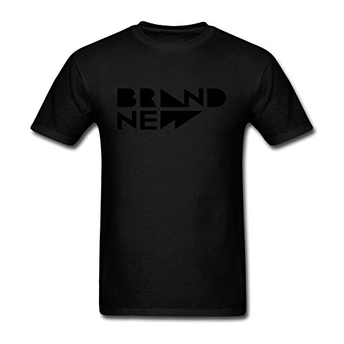 UKCBD -  T-shirt - Uomo nero (Daisy Rattle)