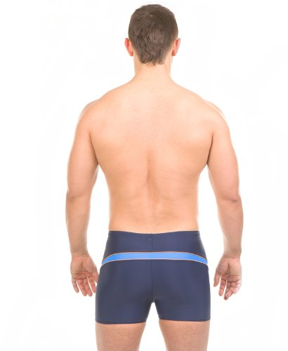 AQUA sPEED short de bain pour homme-pERFECT fIT Bleu - Bleu