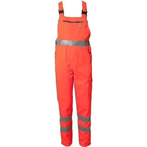 Planam 2021098 misura 248,92 cm (98') alta visibilità'salopette', colore: arancione