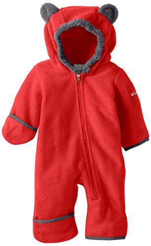 Columbia Tiny Bear II Bunting Kinder Fleece-Overall SN0214-613 mountain red, mountain red, 6/12/2018