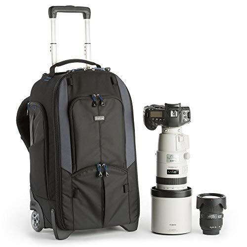 Think Tank Streetwalker Rolling Backpack V 2.0 Fotorucksack/-Trolley für 2 DSLRs mit angesetztem Objektiv, 5 Wechselobjektive, 1 Blitz, 1 Laptop, 1 Stativ Think Tank Rucksack