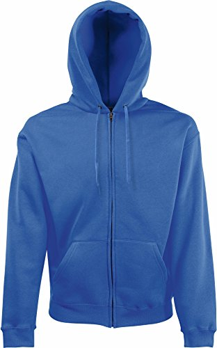 Fruit of the Loom - Sweat-shirt - Manches Longues - Femme Bleu - Blue - Royal