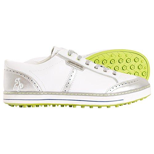 Green Lamb Green Lamb , Damen Golfschuhe *, weiß - White-Lime - Größe: 36.5