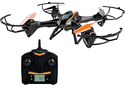 DCH-600 Quadcopter Drone with HD Video Camera, 2 Speed, 6 Axis & 360 Degree Flip Function