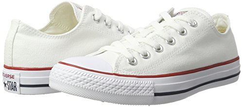 Converse Converse Sneakers Chuck Taylor All Star M7652, Unisex-Erwachsene Sneakers, Weiß (Optical White), 43 EU (9.5 Erwachsene UK) - 6