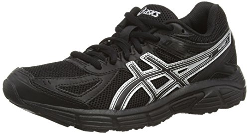ASICS Patriot 7 - Zapatillas de Running para Mujer, Color Negro (Black/Onyx/Silver 9099), Talla 37.5