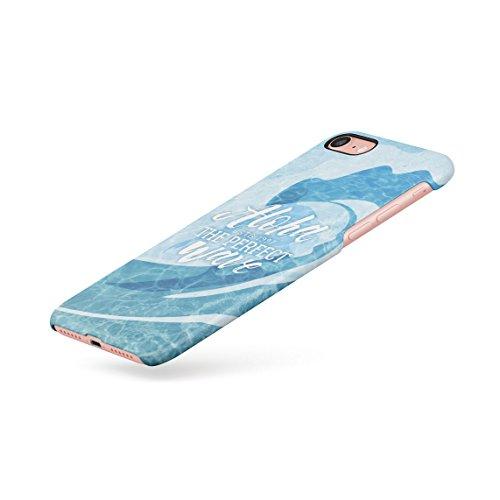 Surfing Paradise Beach Men Surfboards Good Summer Vibes Dünne Rückschale aus Hartplastik für iPhone 5 & iPhone 5s & iPhone SE Handy Hülle Schutzhülle Slim Fit Case cover Perfect Wave